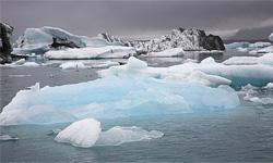 Ледники на границе Аляски и Канады