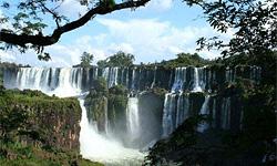 Самый большой водопад в мире. Национальный парк Игуасу.