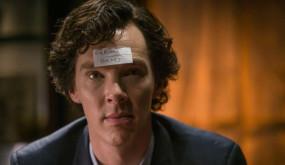 На съемках Шерлока