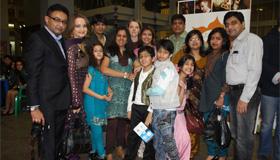 «Индия ТВ» приняла участия в празднике Света и Огней!
