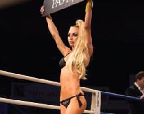 Девушки телеканала «Русская ночь» украсили боксерское шоу «THE WINNER TAKES IT ALL»!