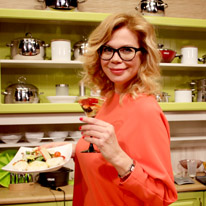 Ведущая телеканала «Кухня ТВ» Ника Ганич проведет кулинарные мастер-классы