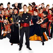 Телеканал «Комедия ТВ» поддержал премьеру оркестра «Русский стиль»