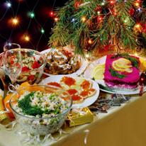 Телеканал «Кухня ТВ» желает всем счастливого Нового года и Рождества!