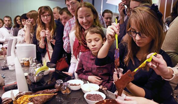 Пятый московский Салон Шоколада пройдет при инфоподдержке телеканала «Кухня ТВ»