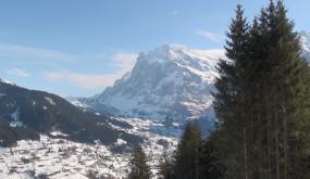 Альпы - снежные ландшафты